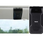 BMR Bluetooth Visor Handsfree Speakerphone Car kit for iPhone, Samsung, HTC and all other Cellphones