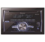 Pioneer In-Dash Double DIN Car Stereo Receiver with Bluetooth, FH-X700BT