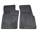 Highland 4602800 All-Weather Black Front Seat Floor Mat