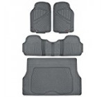 MotorTrend FlexTough Rubber Floor Mats & Cargo Set Gray Heavy Duty BPA Free & Odorless Reviews