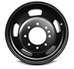 New 17 Inch Dodge Ram 3500 DRW Dually 8 Lug Replacement Wheel Rim 17×6 Inch 8 Lug 121mm Center Bore 136mm Offset