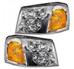 Driver and Passenger Headlights Headlamps Replacement for GMC SUV 15866071 15866070 Reviews