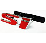 Honda SI 3D Metal Decal Red Emblem Badge Car Truck Auto Front Grill Grille For Accord Civic RSX