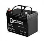 ML35-12 – 12V 35AH U1 Deep Cycle AGM Solar Battery Replaces 33Ah, 34Ah, 36Ah – Mighty Max Battery brand product
