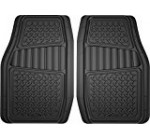 Armor All 78830 2-Piece Black All Season Truck/SUV Rubber Floor Mat Reviews
