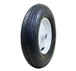 Marathon 4.80/4.00-8″ Pneumatic (Air Filled) Tire on Wheel, 3″ Hub, 3/4″ Bearings, Ribbed Tread