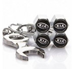 KIA Tire Valve Caps with Bonus Wrench Keychain Reviews