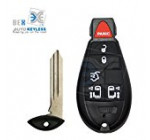 BEX New Replacement Key Fob Keyless Entry Remote Beeper Transmitter For 2008-2015 Chrysler Town & Country 6 BUTTON