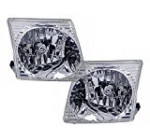 Ford Explorer Sport/Explorer Sport Trac Headlights Headlamps Pair New Set