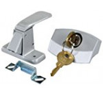 JR Products 10805 Silver Camper Door Latch