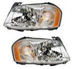 2001-2002-2003-2004 Mazda Tribute Headlight Headlamp Halogen Composite Front Head Lamp Light Pair Set Left Driver AND Right Passenger Side (01 02 03 04)