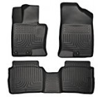 Husky Liners Front & 2nd Seat Floor Liners (Footwell Coverage) Fits 11-15 Optima