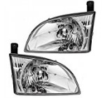 Driver and Passenger Headlights Headlamps Replacement for Toyota 81150-08020 81110-08020