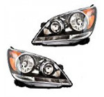Driver and Passenger Headlights Headlamps Replacement for Honda Van 33150SHJA51 33100SHJA51