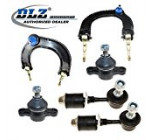 DLZ 6 Pcs Front Suspension Kit-2 Lower Ball Joints, 2 Left Right Upper Control Arm Ball Joint Assembly, 2 Sway Bar Links for 2002-2005 Hyundai Sonata XG350 2001-2006 Kia Magentis Optima
