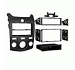 Metra 99-7338B Kia Forte 2010-Up Installation Dash Kit for Double DIN/ISO Radios, Black