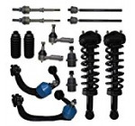 14-Piece Front Suspension Kit 2WD ONLY – 2 Front Coil Spring Ready Install Struts, 2 Upper Control Arm & Ball Joint, 2 Lower Ball Joint, All 4 Tie Rod, 2 Sway Bars, 2 Tie Rod Boots Reviews