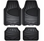 Armor All 78840 4-Piece Black All Season Rubber Floor Mat