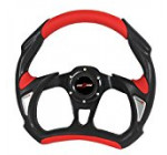 Rxmotor Universal Fit 320mm JDM Battle Racing Steering Wheel New – Acura Honda Toyota Mazda Mitsubishi etc (RED) Reviews