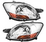 Driver and Passenger Headlights Headlamps Replacement for Toyota 81170-52740 81130-52750