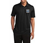 Mens Built Ford Tough Black Textured Polo Shirt 2XL