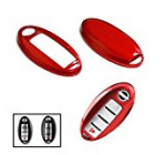 iJDMTOY (1) Exact Fit Gloss Metallic Red Smart Key Fob Shell For Nissan 370Z Altima Cube GT-R Maxima Murano Pathfinder Rogue, etc Reviews