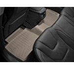 WeatherTech Custom Fit Rear FloorLiner for Ford F150 Super Crew, Tan