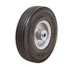 Marathon 8×2″ Flat Free, Hand Truck / All Purpose Utility Tire on Wheel, 2.375″ Centered Hub, 1/2″ Bearings Reviews