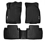 MAXFLOORMAT Floor Mats for Nissan Rogue (2014-2017) Complete Set (Black)