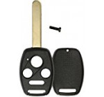 KeylessOption Just the Case Keyless Entry Remote Head Key Combo Fob Shell