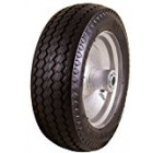 Marathon 4.10/3.50-4″ Flat Free, All Purpose Utility Tire on Wheel, 4″ Centered Hub, 5/8″ Bearings