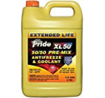 Pride XL50 Pre-Mix 50/50 Antifreeze/Engine Coolant for Extended Life (1 U.S. GAL/3.785L) – JUG – [Case of 6]
