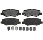 ACDelco 14D1274CH Advantage Ceramic Rear Disc Brake Pad Set