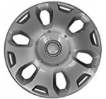 Hubcap for Ford Transit (Single Piece) Wheel Cover – 15 Inch Silver Replacement