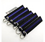 Thin Blue Line – Key Chains – 5pcs – by Rotary13B1