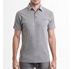Tesla Motors Men's Logo Polo Shirt (L, Grey)