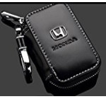 Zepthus Black Car Key Chain Bag Premium Leather Car Key Chain Coin Holder Zipper Case for Auto Remote Key Fob Reviews