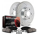 Power Stop K3038 Front Z23 Evolution Brake Kit with Drilled/Slotted Rotors and Ceramic Brake Pads