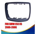 General Mega 1 PCS Right ( Passenger side) Door Mirror Cover Caps Trim Ring for 2000-2006 BMW E53 X5