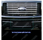 APS F66789H Black Powder Coated Aluminum Billet Grille Bolt Over for select Ford F-150 Models