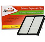 EPAuto GP881 (28113-2P100) Hyundai / KIA Replacement Extra Guard Rigid Panel Engine Air Filter for Azera (2013-2014), Sonata (2011-2014), Santa Fe (2010-2012), Optima (2013-2015), Sorento (2011-2013)