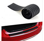 JessicaAlba® Black New Rubber Rear Guard Bumper Protector Trim Cover For Ford Edge Escape Expedition Explorer Flex Focus Fusion Windstar Fiesta Ecosport Kuga Mondeo