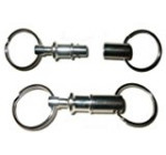 2 Locksmith PROFESSIONAL quality Detachable Keychains — Best Seller on Amazon! Reviews