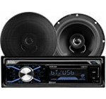 BOSS Audio 656BCK Single Din, Bluetooth, CD/MP3/USB/SD AM/FM Car Stereo, Wireless Remote, 6.5 Inch 2 Way Full Range Speaker Package