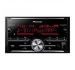 Pioneer MVH-X690BS Vehicle Digital Media 2DIN Receiver with Enhanced Audio Functions, Black