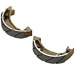 EBC Brakes 333G Water Grooved Brake Shoe