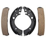 ACDelco 17576B Professional Bonded Rear Drum Brake Shoe Set