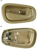 Toyota Corolla Passenger Side Interior Door Handle Tan
