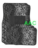 A Set of 4 Universal Fit Animal Print Carpet Floor Mats for Cars / Truck – Snow Leopard Reviews