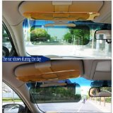 Uhome 2014 style 2 in 1 Transparent Day and Night Anti-Glare Sun Zapper Innovative Glare Shield Car Day and Night Anti-glare Eyesight-protecting Mirrors Clip-on Headlights Visor and Sun Visor Reviews